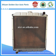 Complete aluminum truck radiator Q413