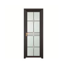 Porta de banheiro impermeável com vidro