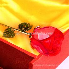 Оптовая элегантный романтический кристалл роза цветок Валентайн ' sday