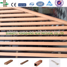 Material do painel exterior wpc