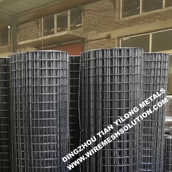 Black PVC Coated Welded Wire Mesh
