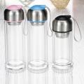 Bouteille d'eau en verre Creative Business avec manchon