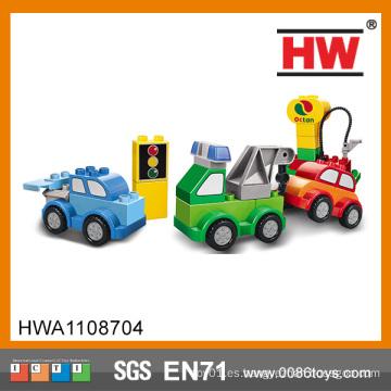 Los coches del juguete de los bloques plásticos de los niños del diseño de la novela
