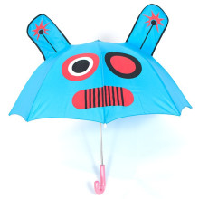 promotion brands pretty lovely colorful advertising cartoon manual open straight kid umbrella