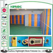 2 niveaux en plastique rangement Locker cadenas Gym Locker