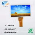 Ecran TFT à interface Ethernet à 7 broches de 7 po