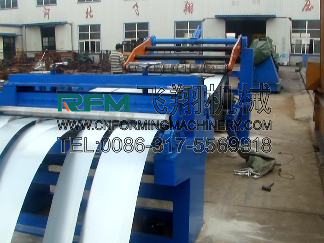 High performance automatic aluminum coil slitting line