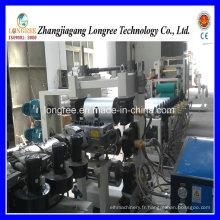 2017 machine de feuille de baguage de bord de PVC à haute efficacité / 400-600mm machine de baguage de bord de feuille de PVC avec la ligne de découpeuse et d'impression