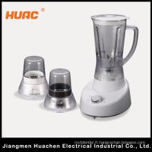 Food Blender Home Appliance Push Button Plastic Jar