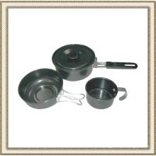 Non Stick Camping Cookware Set Cl2c-Dt1303-3