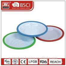 Kunststoff-Runde plate(2pcs)