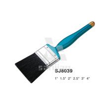 Sjie8039 Blauer Kunststoffgriff mit reinem Borstenpinsel
