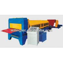 Машина для формирования рулонной плиты из металлического софита