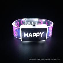 2016 fête de noël enfants jouets led lumière bracelet