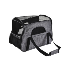 High Quality Travel Outing Breathable Mesh Portable Pet Carrier Bag