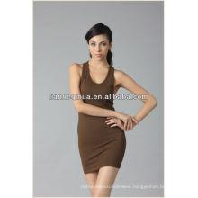 2014 summer new women dress,comfortable and soft knitting seamless dress for girl