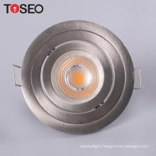 Aluminum die cast downlight fixture MR16 GU10 recessed light fitting