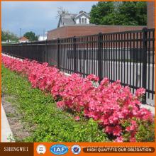 Front Yard Hierro forjado Yard Fence y Gates Designs