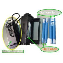 TM-UV-100-2 2kw máquina de curado UV portátil para prueba de tinta UV