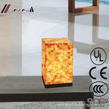 Modern Hotel Decorative Natual Shell Square Bedside Table Lamp