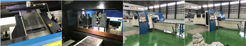 punch and shear machine installation