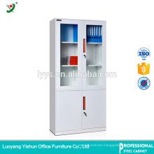 Laboratory equipment Half Glass Cheap File Cabinet Metal Cupboard