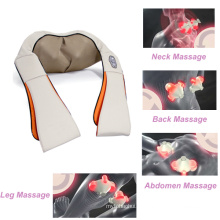 Massager sem fio recarregável do corpo da correia da massagem de Shiatsu do aquecimento