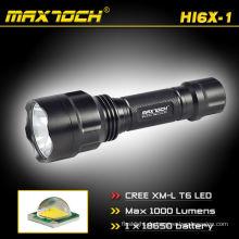 Maxtoch-HI6X-1 wiederaufladbare besten militärischen Taschenlampe