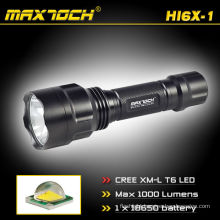 Maxtoch HI6X-1 Cree Rechargeable Power Cree XM-L T6 5-Mode Flashlight