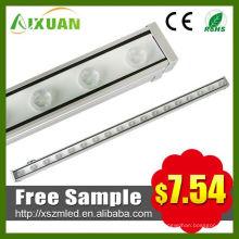 Mini luz iluminación 18w arandela de la pared de la barra de seguridad