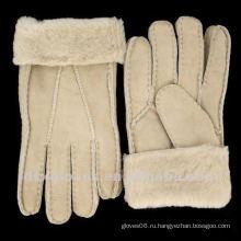 Экстремальные холодные перчатки из овчины