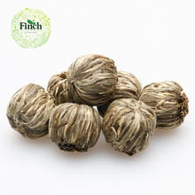 Finch venda quente chinês que floresce chá verde Qi Zi Xian Shou com botões de jasmim