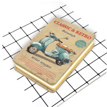 Custom retro style cute metal cover notebook