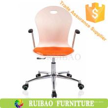 Пластиковые кресла Офисный стул для посетителей с сетчатой подушкой