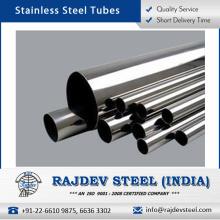 Material de pulido perfecto Tubo de acero inoxidable con alta flexibilidad a bajo precio