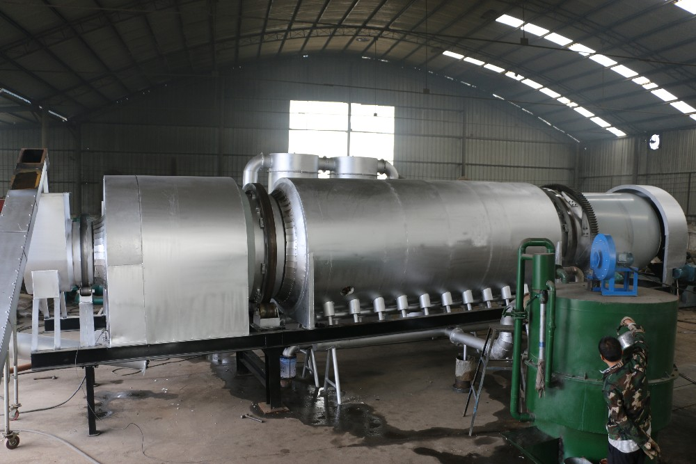 coconut husk carbonization furnace