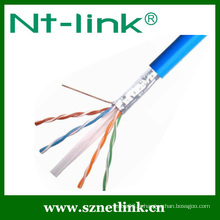 Rj45 solid cat6 ftp lan cable