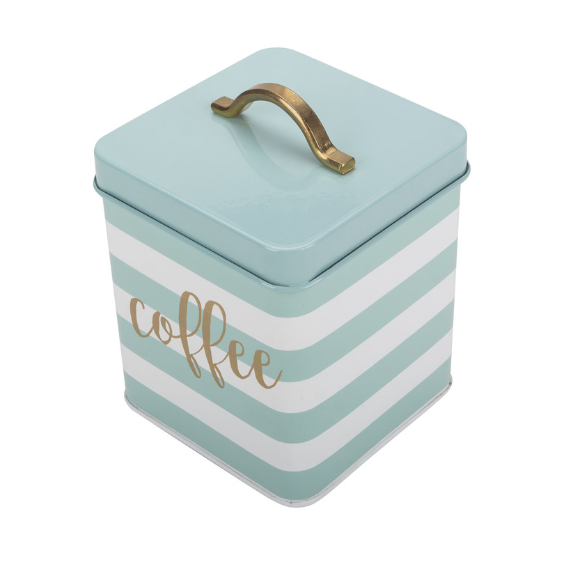 Square Coffee Canister