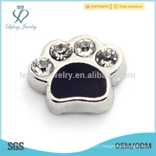 Dog charms wholesale paw,dog paw jewelry