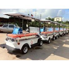 2 Sitze Elektrische Rettung Ambulance Golf Cart