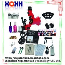Professional wholesale price for tattoo body piercing tools kits,permanent tattoo kit set