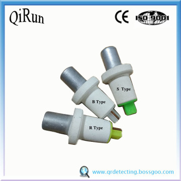 Rapid Expendable Immersion Thermocouple