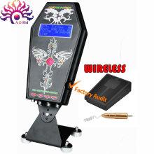 Drahtlose intelligente digitale LED-Tattoo-Power vereinen Versorgung für Tattoo-Maschine