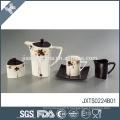 Design de décalque en céramique élégant en céramique de style chaud et élégant