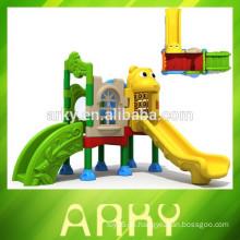 2015 Kinder mögen Spiel Dia kleinen Park spielen Struktur Outdoor Kunststoff Spielplatz Ausrüstung