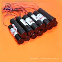 Module de laser rouge de ligne d'alimentation d'énergie laser à haute tension 650nm