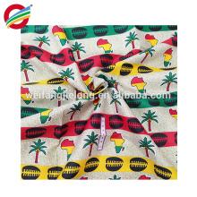 La cera africana de alta calidad imprime la materia textil del hitarget de la tela