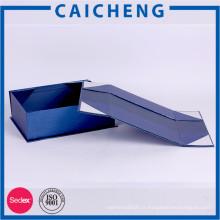 Boîte de cadeau papier carton créatif boîte pliante avec couvercle