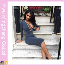 Fashion Women Bandage Clubbing Party Dresses (Dress 153)