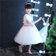 Кот вышивать девушки одежда детская одежда мода девушка платье (ST04)